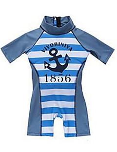 cheap Boys' Swimwear-Toddler Boys' Solid Colored Striped Swimwear