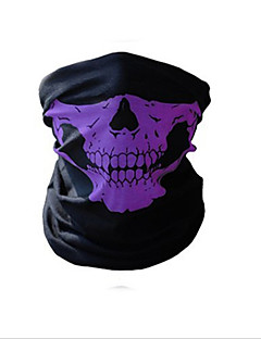 billige Sykkelklær-Ansiktsmaske / Headsweat Alle årstider Hold Varm / Sykling / Fitness, Løping & Yoga Camping & Fjellvandring / Utendørs Trening / Sykling / Sykkel Unisex Spandex Hodeskaller
