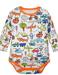 billige Babytøj-Baby Unisex Regnbue Langærmet Bodysuit