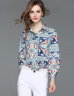 billige Dametopper-Skjorte Dame - Paisly, Trykt mønster Gatemote