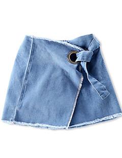 billige Babyunderdele-Baby Pige Basale Ensfarvet Shorts