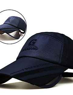 cheap Outdoor Clothing-Cap Summer Extended / UV resistant / Breathability Hiking / Fishing / Traveling Unisex Polyester / Cotton Solid Colored
