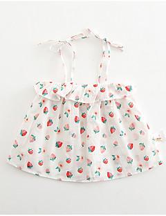 billige Babytøj-Baby Pige Frugt Uden ærmer Kjole