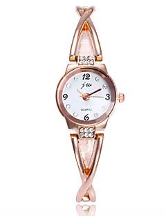 billige Armbåndsure-Dame Armbåndsur Kinesisk Imiteret Diamant / Afslappet Ur Legering Bånd Minimalistisk / Mode Sølv / Guld