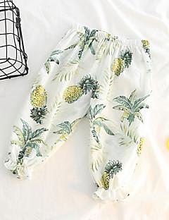 billige Bukser og leggings til piger-Baby Pige Ananas Trykt mønster Bukser