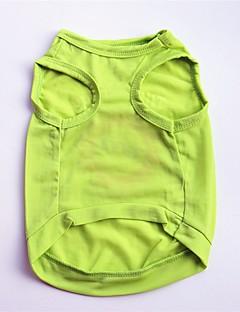 billiga Hundkläder-Hund / Katt / Husdjur Väst Hundkläder Blommig / Botanisk / Slogan Grön Cotton Kostym För husdjur Herr Blom / Ledigt / vardag
