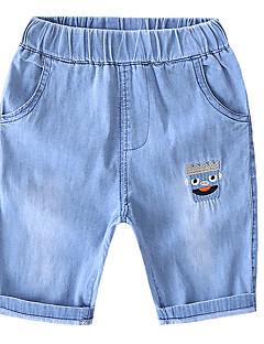 billige Jeans til piger-Baby Unisex Ensfarvet Jeans