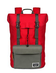 billiga Ryggsäckar och väskor-40 L Ryggsäckar till dagsturer / ryggsäck - Bärbar Camping, Resor oxford Svart, Röd