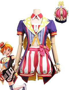 """billige Anime cosplay-Inspirert av BanG Dream Cosplay Anime  """"Cosplay-kostymer"""" Cosplay Klær Annen Kortermet Frakk / Topp / Bukser Til Unisex Halloween-kostymer"""