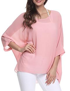 ieftine Tops-Pentru femei Mărime Plus Size Bluză Plajă Mată