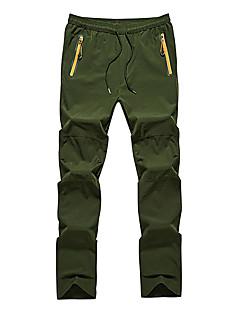 baratos Calças e Shorts para Trilhas-Homens Calças de Trilha Ao ar livre Secagem Rápida, Design Anatômico Elastano Calças Caça / Com Stretch