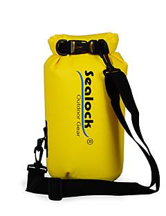 お買い得  防水バッグ & 防水ケース-Sealock 5 L 防水ドライバッグ 防水ファスナー, 耐久性 のために 水泳 / 潜水 / サーフィン