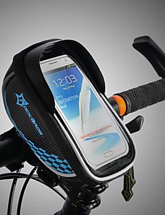 billiga Cykling-ROCKBROS Mobilväska / Väska till cykelramen Pekskärm, Vattentät, Lättvikt Cykelväska TPU / EVA / Polyster Cykelväska Pyöräilylaukku Cykling Cykel