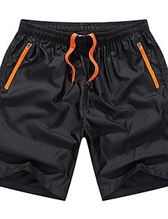 billige Herrebukser og -shorts-Herre Grunnleggende Shorts Bukser - Ensfarget Blå