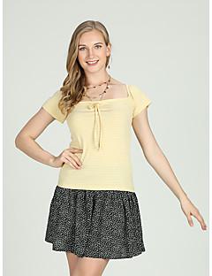 billige Dametopper-Skjorte Dame - Stripet, Blondér Aktiv / Grunnleggende