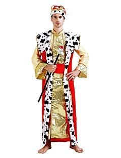 billige Halloweenkostymer-Pirates of the Caribbean Drakter Herre Halloween / Karneval / Barnas Dag Festival / høytid Halloween-kostymer Gylden Ensfarget / Halloween Halloween