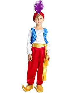 billige Halloweenkostymer-Cosplay Kostume Gutt Barne Halloween Halloween Karneval Barnas Dag Festival / høytid Halloween-kostymer Drakter Fuksia Ensfarget Halloween