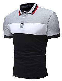povoljno Muške polo majice-Polo Muškarci - Osnovni Dnevno Color block
