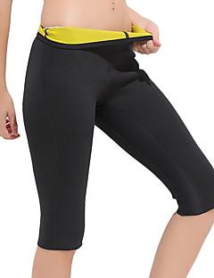 זול -מכנסי הרזייה עם נאופרן ירידה במשקל, שמן מבער, בטן כושר ל יוגה / כושר וספורט בגדי ריקוד גברים / בגדי ריקוד נשים