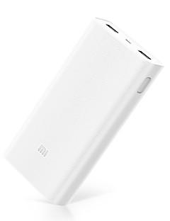 baratos Total Promoção Limpa Estoque-Banco de poder Modo - Xiaomi 20000mAh 2C - Portátil / Com Quick Charge 3.0