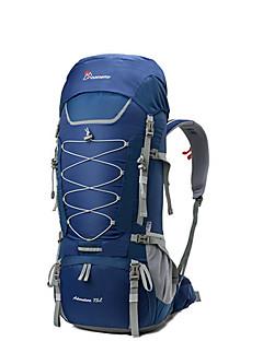 billiga Ryggsäckar och väskor-70 L Ryggsäck - YKK-dragkedja Utomhus Camping 100g / m2 Polyester Stretch Röd, Grön, Blå