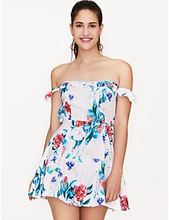 Χαμηλού Κόστους Off Shoulder-Γυναικεία Εξόδου Λεπτό Θήκη Φόρεμα Πάνω από το Γόνατο Χαμόγελο