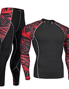 billige Sett med sykkeltrøyer og shorts/bukser-Nuckily Underplagg til sykling - Rød / Blå Sykkel Fort Tørring Spandex