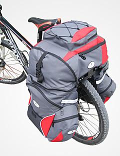 お買い得  サイクリング-65 L 自転車用リアバッグ / 自転車用サイドバッグ 1では3, 防水, 防雨 自転車用バッグ 600Dポリエステル 自転車用バッグ サイクリングバッグ サイクリング バイク