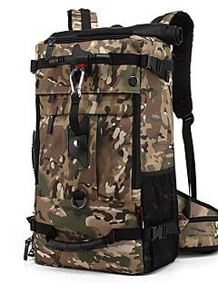 billiga Ryggsäckar och väskor-40 L Ryggsäckar / Väska - Lättvikt, Regnsäker, Bärbar Utomhus Camping, Strand, Resor Oxfordtyg Svart, Armégrön, Kamoflage