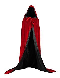 billige Halloweenkostymer-Trollmann / heks Vampyrer Jakke Cosplay Kostumer Party-kostyme Unisex Jul Halloween Karneval Festival / høytid Halloween-kostymer Drakter Grønn / Blå / Mørkegrønn Uspesifisert Dekke Opp Halloween