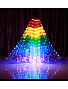 billiga Dansaccessoarer-Danstillbehör Isisvingar Dam Prestanda Polyester LED