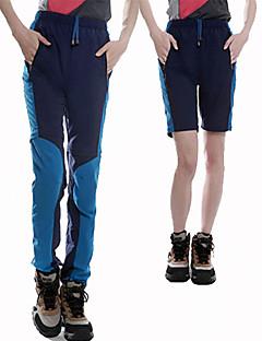 baratos Calças e Shorts para Trilhas-Mulheres Calças de Trilha Ao ar livre Leve, Secagem Rápida, Respirabilidade Calças Equitação / Alpinismo / Exercicio Exterior / Resistente a UV