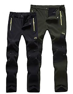 baratos Calças e Shorts para Trilhas-Homens Calças de Trilha Ao ar livre A Prova de Vento, Respirabilidade Calças Esqui / Equitação / Exercicio Exterior / Micro-Elástica