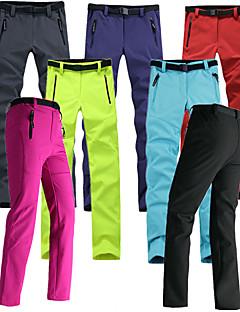 baratos Calças e Shorts para Trilhas-Mulheres Calças de Trilha Ao ar livre A Prova de Vento, Á Prova-de-Chuva, Respirabilidade Inverno Tosão Calças Esqui / Pesca / Equitação / Com Stretch