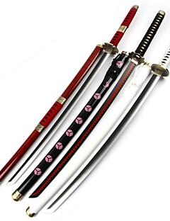 baratos Swords Anime Cosplay-Espada Inspirado por One Piece Roronoa Zoro Anime Acessórios para Cosplay Espada Madeira Todos quente / Ano Novo Trajes da Noite das Bruxas