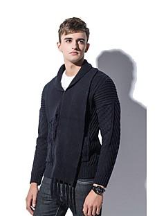 baratos Suéteres & Cardigans Masculinos-Homens Básico Carregam - Sólido, Franjas
