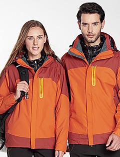 billiga Skid- och snowboardkläder-Dam Skidjacka Vindtät, Vattentät, Regnsäker Skidåkning / Camping / Snowboardåkning 100% Polyester Dunjackor Skidkläder / Håller värmen