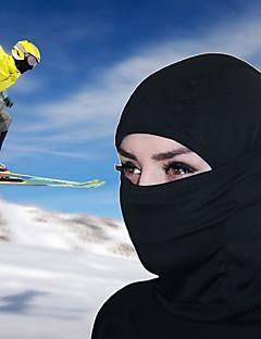 billige Sykkelklær-balaclavas / Ansiktsmaske Vår / Vinter Vindtett / Pustende / Hold Varm Ski & Snowboard / Camping / Vandring / Grotte Udforskning / Sykkel Herre / Dame Polyester / Spandex