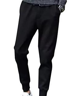 billige Herrebukser og -shorts-Herre Grunnleggende Harem Bukser Ensfarget