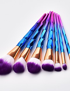 cheap Makeup Brushes-7 pcs Makeup Brushes Professional Blush Brush / Eyeshadow Brush / Lip Brush Nylon fiber Full Coverage