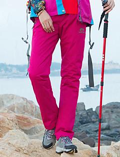 baratos Calças e Shorts para Trilhas-Mulheres Calças de Trilha Ao ar livre A Prova de Vento, Prova-de-Água, Manter Quente Calças Equitação / Alpinismo / Campismo