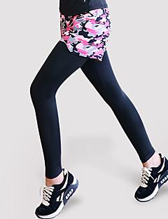 billiga Träning-, jogging- och yogakläder-GOSOU≡R Dam Elastiskt midjeband / Ficka Running shorts med tights - Kamoflage sporter Mode Elastan Cykling Tights Yoga, Fitness, Gym Sportkläder Snabb tork, Mjuk, Sportflex Hög Elasisitet Skinny