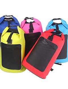 billiga Ryggsäckar och väskor-20 L Vattentät Packpåse - Regnsäker, Torkar snabbt, Bärbar Utomhus Fiske, Camping Nät Röd, Blå, Rosa