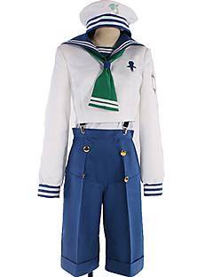 """billige Anime Kostymer-Inspirert av Gratis! Nagisa Hazuki Anime  """"Cosplay-kostymer"""" Cosplay Klær Ensfarget / Enkel Halsklut / Sokker / Mer Tilbehør Til Herre / Dame"""