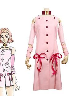 """billige Anime Kostymer-Inspirert av Jojos Bizarre Adventure Cosplay Anime  """"Cosplay-kostymer"""" Cosplay Klær Annen Ermeløs Other / Kjole / Ermer Til Unisex"""