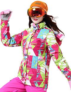 billiga Skid- och snowboardkläder-Wild Snow Dam Skidjacka Vindtät, Varm, Ventilerande Skidåkning / Multisport / Vintersport Polyester Dunjackor Skidkläder