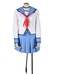 """billige Anime Kostymer-Inspirert av AngelBeats Cosplay Anime  """"Cosplay-kostymer"""" Cosplay Klær Ensfarget / Fargeblokk N / A / Halsklut / Bandasje Til Unisex"""
