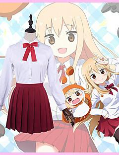 """billige Anime Kostymer-Inspirert av Himouto Cosplay Anime  """"Cosplay-kostymer"""" Cosplay Klær Helfarge Halsklut / Trøye / Skjørte Til Herre / Dame"""