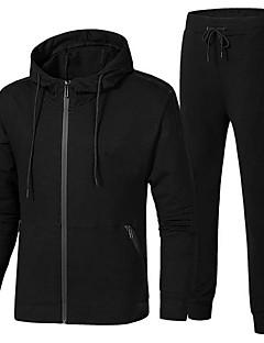 tanie Odzież turystyczna-Męskie Bluzy na wolnym powietrzu Jesień Wiosna Bez szwu T-shirt Multisport Czarny