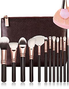 cheap Makeup Brushes-15pcs Makeup Brushes Professional Makeup Brush Full Coverage Wooden / Bamboo